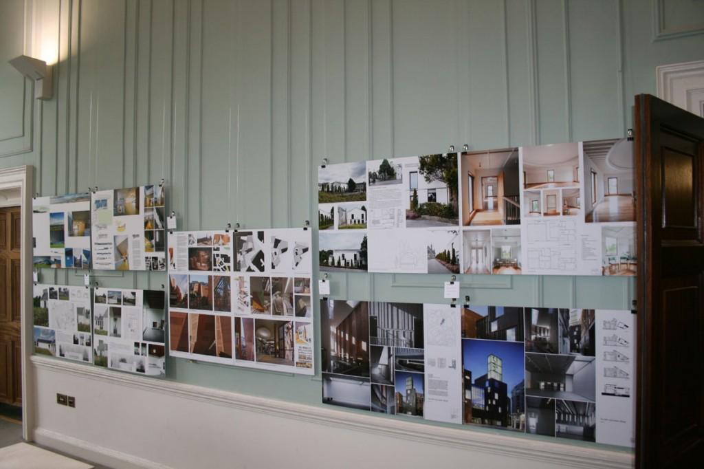 AAI Awards exhibition panels in the IAA