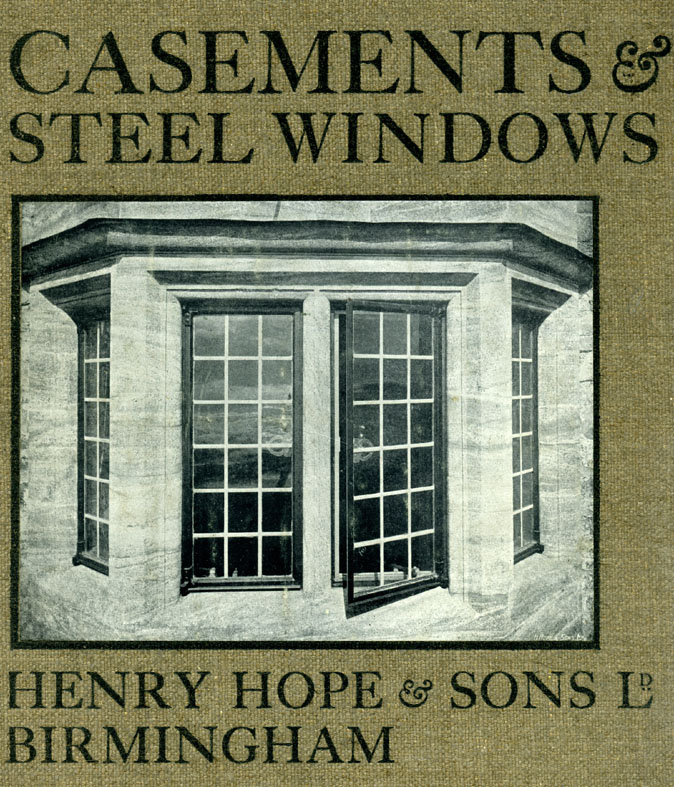 Cover, Henry Hope & Sons Ltd catalgoue, 1904