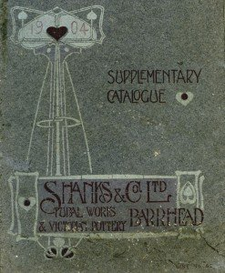 Cover, Shanks & Co. catalogue, 1904